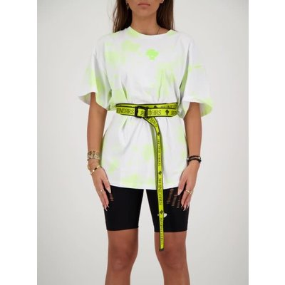 REINDERS Belt wording yellow neon