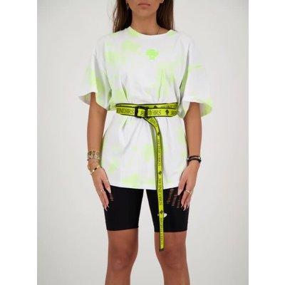 REINDERS Buckle belt neon yellow
