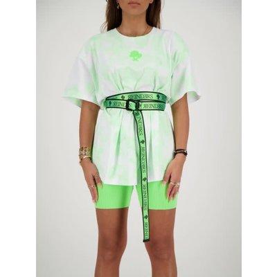 REINDERS Buckle belt neon green