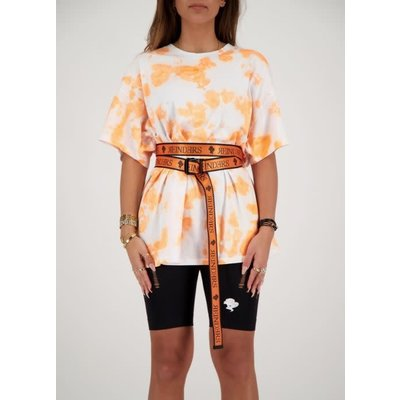REINDERS Belt wording orange neon