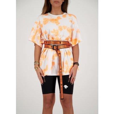 REINDERS Buckle belt neon orange