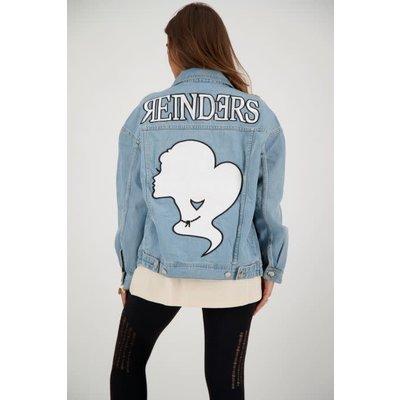 REINDERS Denim jacket wording