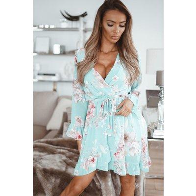 JAIMY Mila ruffle dress mint