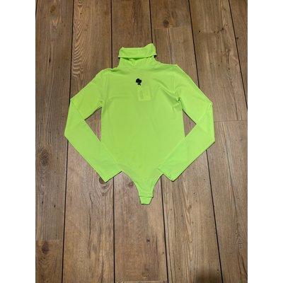 REINDERS Body Turtleneck neon green