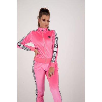 REINDERS Tracking vest velvet neon pink