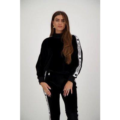 REINDERS Tracking sweater velvet black