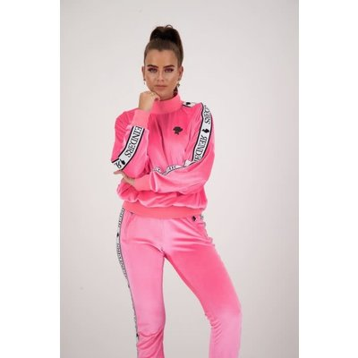 REINDERS Tracking sweater velvet pink neon
