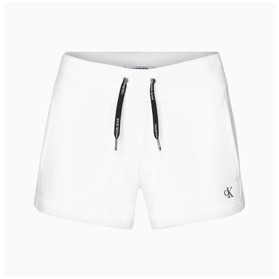 CALVIN KLEIN CK EMBROIDERY REGULAR SHORT white