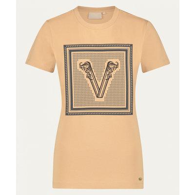 JOSH V Zoe branded v t shirt