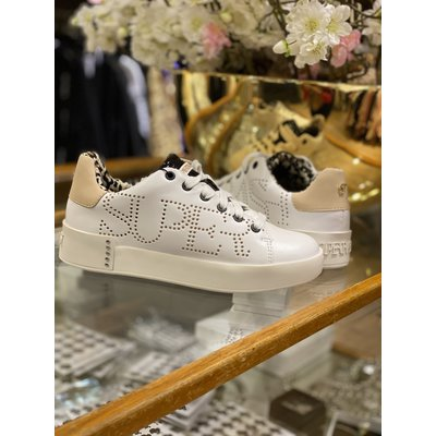 SUPERTRASH Lewi sneakers white/nude
