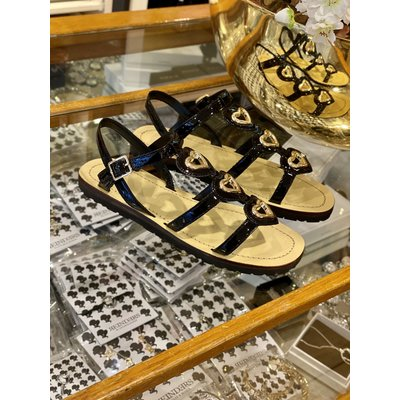 LOVE MOSCHINO Sandal capri 115 vernice