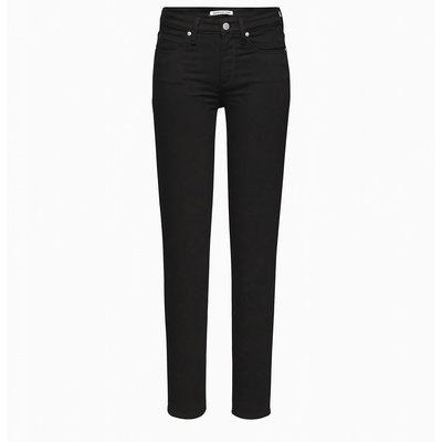CALVIN KLEIN Mid rise skinny jeans black