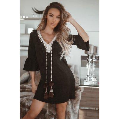 JAIMY Dress Pomeline black