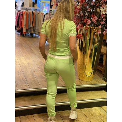 JAIMY Sequin Noemi Comfy set neon green
