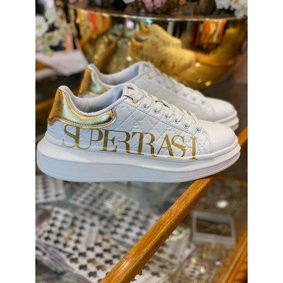 SUPERTRASH Lane sneakers white gold