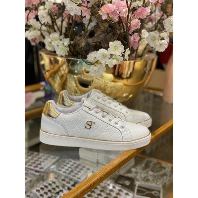 SUPERTRASH Lela sneakers white gold
