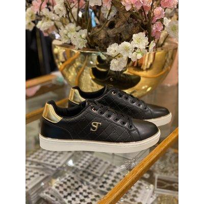 SUPERTRASH Lela sneakers black gold