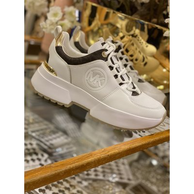 MICHAEL KORS Ballard trainer White multi