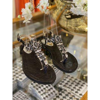JAIMY Saint Tropez sandals black
