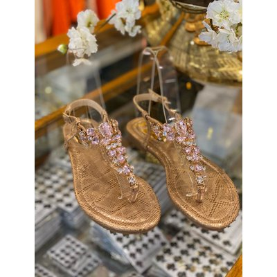 JAIMY Saint Tropez sandals rosegold