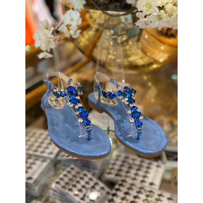 JAIMY Shine Diamond sandals blue