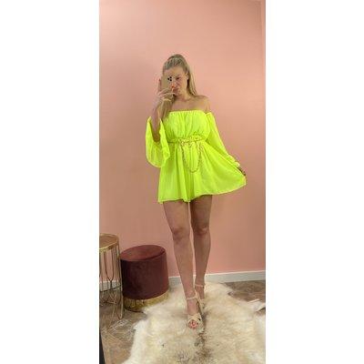 JAIMY Jumpsuit Evie neon geel