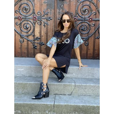 LIU JO Liu Jo leopard tee dress