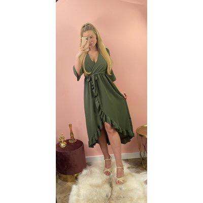 JAIMY Dress Gaby army green