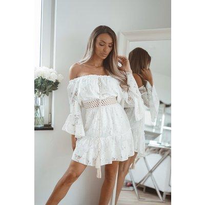 JAIMY Dress tiamo white