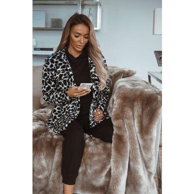 JAIMY Jace x Leopard blazer black