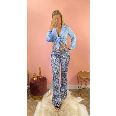 JAIMY Flair pants Rosalie blue