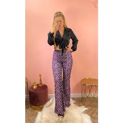 JAIMY Puck flair pants lila