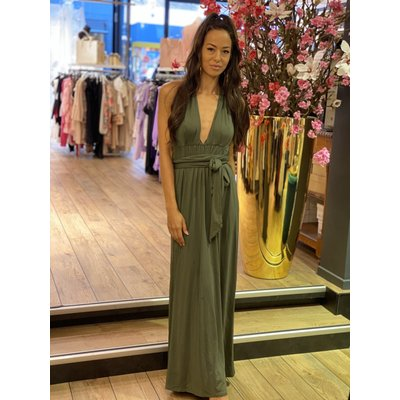 JAIMY More way dress army green