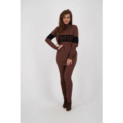 REINDERS Sweater turtleneck dark brown