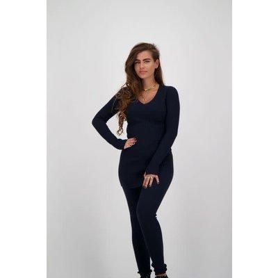 REINDERS Twin set sweater dark blue