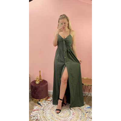 JAIMY Dress Michelle army green