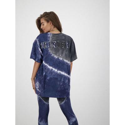 REINDERS Tie dye T-shirt SHORT sleeves dark blue