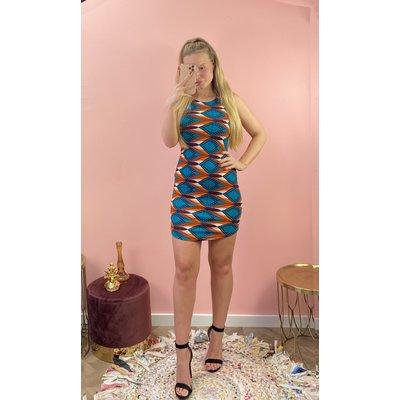 JAIMY Dress print blue