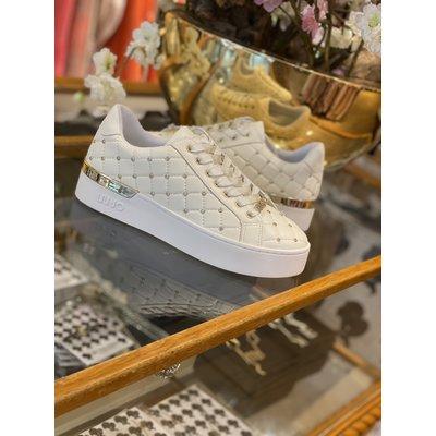 LIU JO Silvia 10 sneaker white embroidery