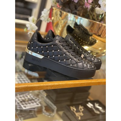 LIU JO Silvia 10 sneakers black embroidery