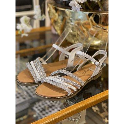 JAIMY Summer vibes sandals white
