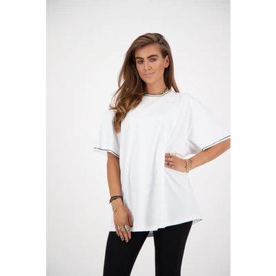 REINDERS T-shirt diamond white gold