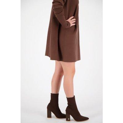 REINDERS Sock ankle boots dark brown