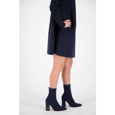 REINDERS Sock ankle boots midnight blue