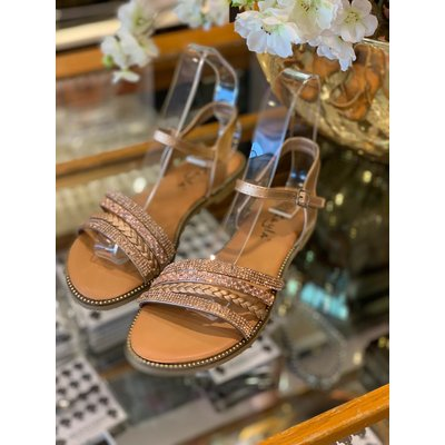 JAIMY Summer vibes sandals champagne