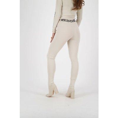 REINDERS Pants tight fit entarsia crème