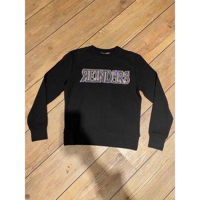REINDERS Reinders sweater wording true black