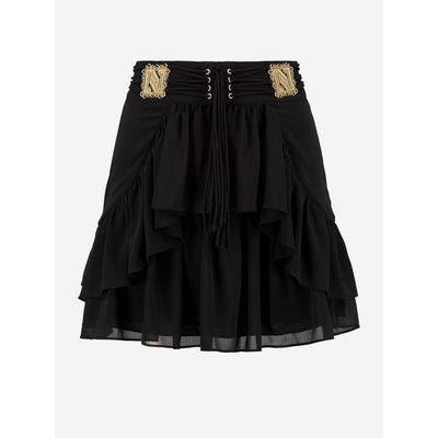 NIKKIE Siva skirt black