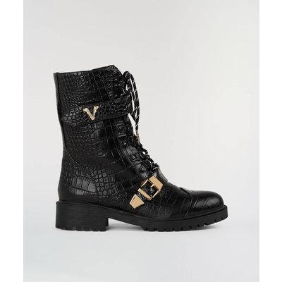 JOSH V Lorraine Boots Black