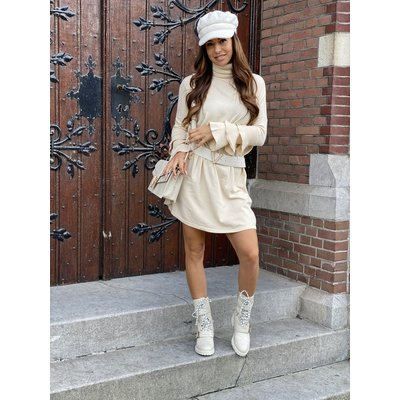JAIMY Bente ruffle sweaterdress